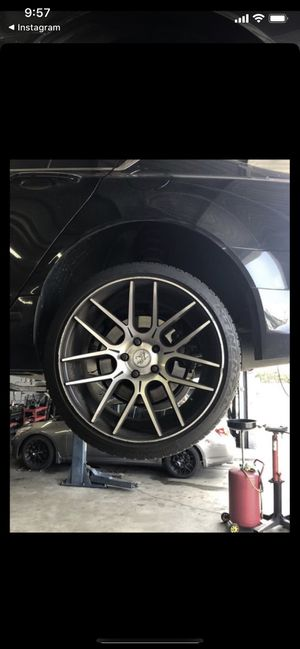 5 lug 4.5 inch or 114.3mm 20 inch Wheels/rims for Sale in Mint Hill, NC