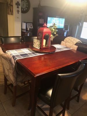 High table with chairs. for Sale in Phoenix, AZ