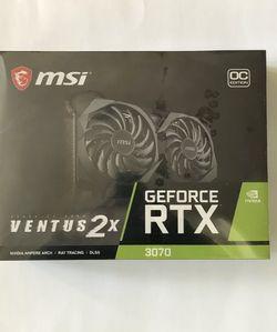 Geforce RTX 3070 MSI Ventus 2x OC for Sale in West Sacramento,  CA