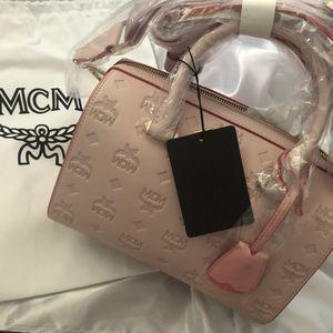 Mcm strawberry cream Boston Bag for Sale in Tempe, AZ