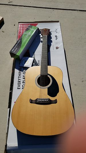 Fender FA-125 Dreadnought Natural Acoustic Guitar for Sale in Fresno, CA