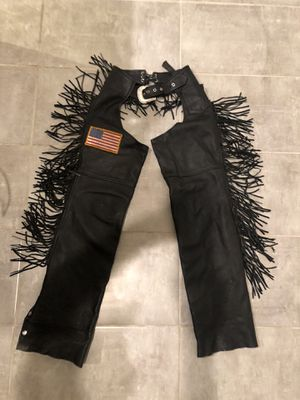 Genuine leather ladies chapps. for Sale in Spicewood, TX