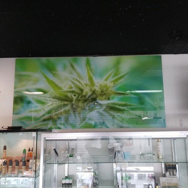 3 foot by 5 foot 8mm tempered glass art