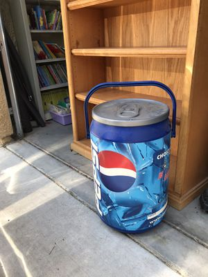 Pepsi ice chest cooler MLS and youth soccer for Sale in Clovis, CA