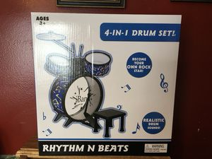 New Children's Drum Set for Sale in Waldo, OH