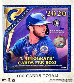 2020 Topps Gallery Baseball Mega Box 2 autos! for Sale in Ruther Glen, VA
