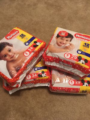 Huggies Diapers for Sale in Arlington, TX