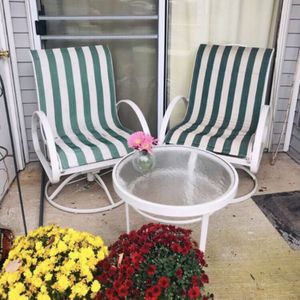 Patio Chair And Table for Sale in Manchester, CT