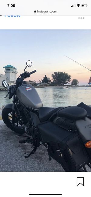 2018 Honda Rebel Motorcycle for Sale in St. Petersburg, FL