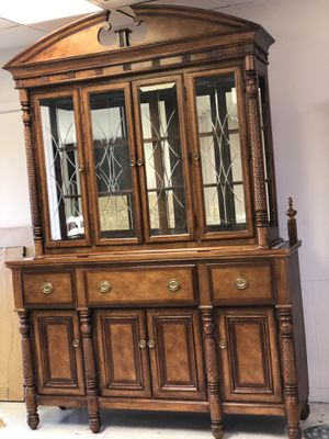 Beautiful wood cabinet for Sale in Colorado Springs, CO