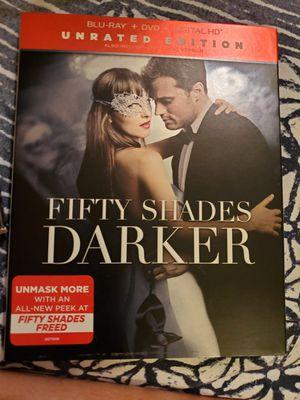 Fifty Shades Darker Blu-Ray for Sale in Lakeland, FL