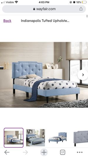 Wayfair tufted twin bed frame for Sale in San Jose, CA
