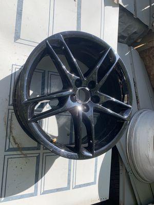 "Black Audi 19"" rims for Sale in Aurora, CO"