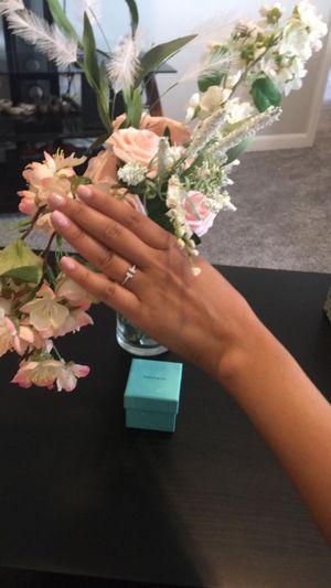 Tiffany diamond ring for Sale in Macomb, MI