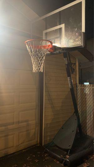 Spalding NBA Portable Basketball Hoop ( 7 1/2 - 10 FT) for Sale in Irvington, NJ