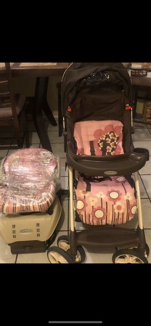 stroller and infant car seat for Sale in El Paso, TX