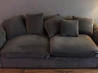 Grey Couch for Sale in Oceanside,  CA