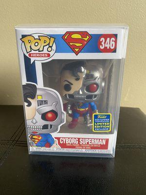 Funko pop Superman with protective case for Sale in Miami, FL