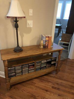 Oak Sofa Table for Sale in Franklin, TN