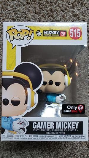 Funko Pop Gamer Mickey Mouse #515 for Sale in Newberg, OR