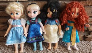 Disney animator dolls, Disney Princess, dolls, for Sale in CHANDLER, AZ