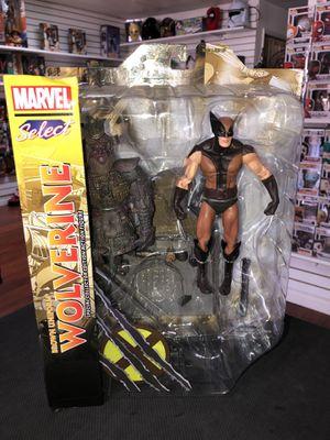 "Marvel Select Brown Uniform Wolverine Diamond Select Marvel 7"" inch for Sale in La Habra, CA"