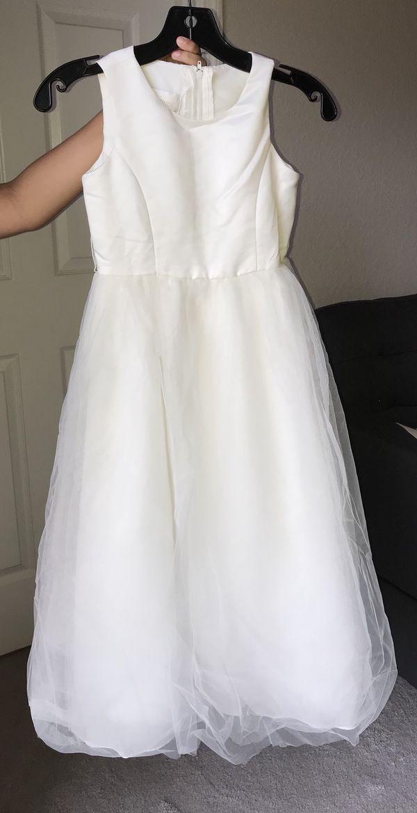David Bridal flower girl dress size 8