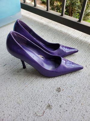 Purple heels like new for Sale in Bellevue, TN