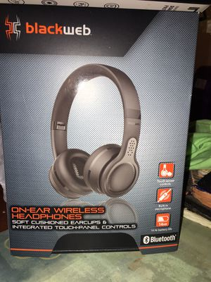 BlackWeb Touch Control wireless headphones brand new for Sale in Germantown, MD