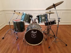 Pearl Export Series 5 pc. Drum Set for Sale in Clinton, MD