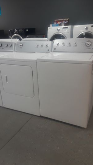 KENMORE WASHER & DRYER SET AUTO LOAD SENSING HE DEEP WATER WASH TRIPLE ACTION IMPELLER for Sale in Lawrenceville, GA