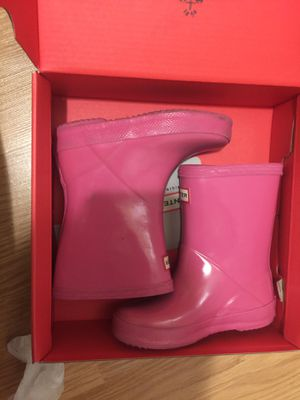 Hunter Rain Boots 7/B 8/G kids for Sale in New York, NY