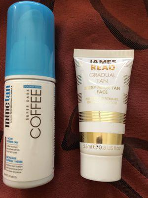 Spray tan / Sleep mask tan face brand new for Sale in Peoria, AZ