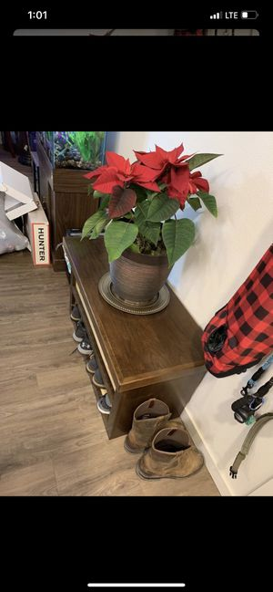 Entry table shoe rack organizer shelf stand for Sale in Clackamas, OR