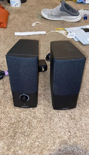 Bose companion 2 series III multimedia PC speakers(3.5mm aux input) for Sale in Phoenix, AZ