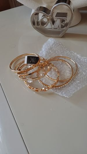 INC bangle bracelet set for Sale in Frisco, TX