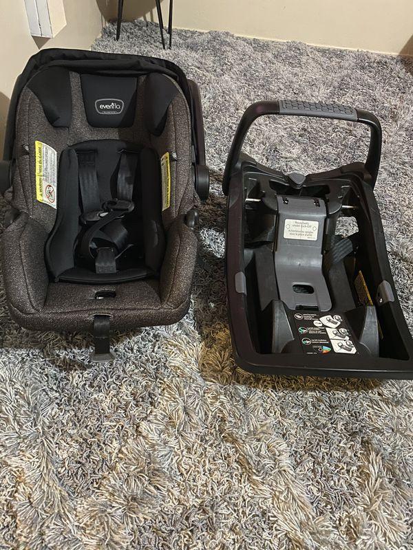 EVENFLO Dark Gray Baby Car Seat