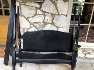 Free black poster bed - full/double for Sale in Lake Oswego, OR