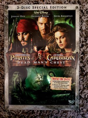 Pirates of the Caribbean 2 DVD for Sale in Norwalk, CA
