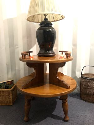 ANTIQUE ROUND WOODEN TABLE FOR SALE!! 🧡 for Sale in San Francisco, CA