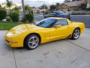 2002 Chevy corvette z06 for Sale in Moreno Valley, CA