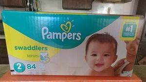 Pampers Swaddlers size 2 for Sale in Waianae, HI