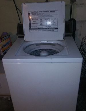 Whirlpool washer and Armana dryer in good condition for Sale in Wichita, KS