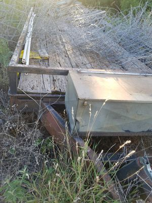 "65"" wide x30' long tandem trailer for Sale in Abilene, TX"