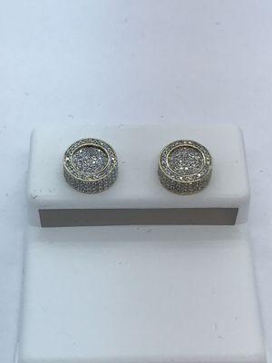 10k Gold Diamond Earrings New for Sale in Renton, WA