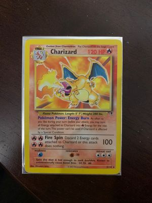 Charizard 3/110 NM for Sale in Fremont, CA