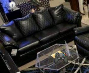 İn stock🍀SAME DAY DELİVERY🍀Betrillo Black Sofa for Sale in Jessup, MD