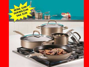 Calphalon Premier Professional 13-piece Hard anodized Cookware Set. NEW for Sale in Plantation, FL