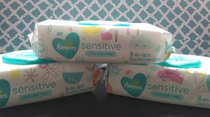 New pampers sensitive baby wipes 3pack for Sale in Pompano Beach, FL