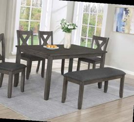 6 pcs dining table set. New. Price firm for Sale in Ontario,  CA
